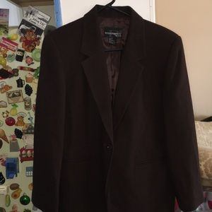 VTG NWT requirements petite blazer jacket coat 8P